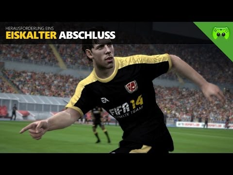 FIFA 14 Ultimate Team: Legends - Challenge #1 - Eiskalter Abschluss | FULLHD