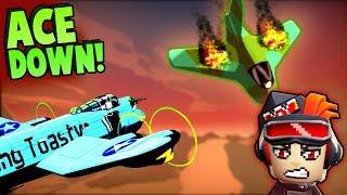 BEST CREW Ever vs ENEMY ACE PILOT (Bomber Crew Gameplay)
