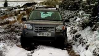 Freelander 2 Offroad In Snow Christmas 2011 In The Scottish Highlands
