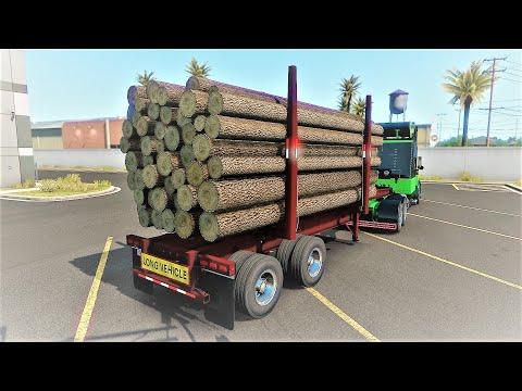 Arctic Logs Trailers by selonik 1.38