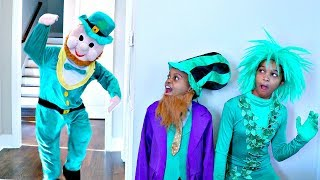 ST PATRICK'S DAY LEPRECHAUN vs Shiloh And Shasha - Onyx Kids