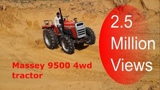 Massey 9500 4wd tractor