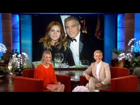 Julia Roberts on Friend George Clooney's Engagement