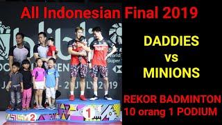 Video PODIUM PALING RAMAI selama sejarah dunia perbadmintonan - ALL indonesian FINAL 2019 MP3, 3GP, MP4, WEBM, AVI, FLV Juli 2019