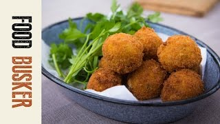 How To Make Arancini | Food Busker by Food Busker