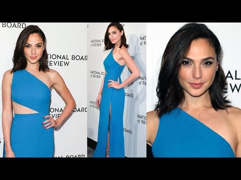 Gal Gadot Wears Sexy Blue Gown At 2018 National Board Of Review Awards Gala, NYC - Hollywood Live