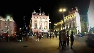 Piccadilly Circus - Time Lapse