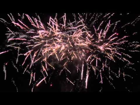 Santa's Sparkle Fireworks 2014