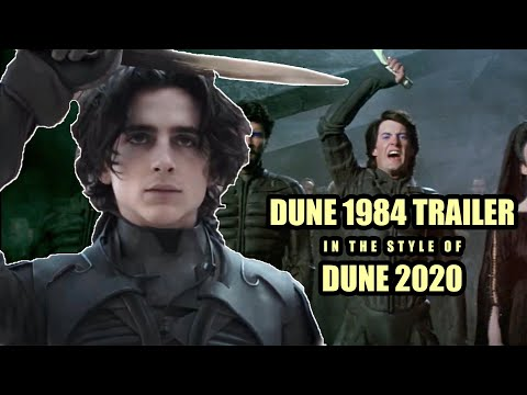 DUNE 1984 TRAILER | IN THE STYLE OF DUNE 2020