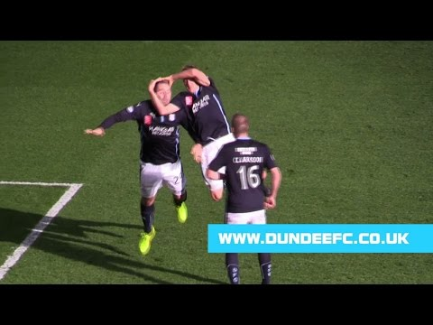 gary - Dundee's Jim McAlister and Gary Harkins celebrate Harkins' goal at Motherwell RKO style www.dundeefc.co.uk.