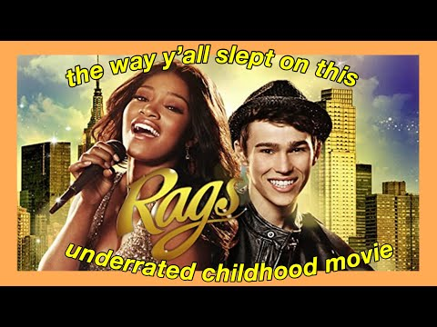 RAGS is the most UNDERRATED childhood movie (the way y'all slept on this..)