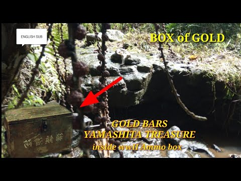 the lost gold of WW2 - BOX OF GOLD