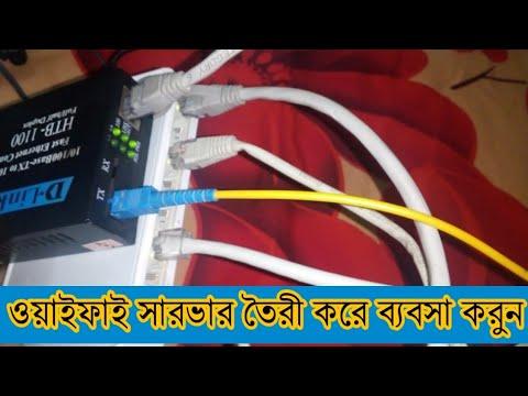 Swtich মাধ্যমে Server তৈরী করুন||ওয়াইফাই ব্যবসা করুন||Free WiFi Server New Video 2020.