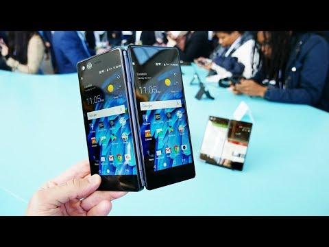 Смотрим складной смартфон ZTE AXON M (видео)
