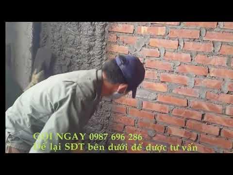 Gầu phun vữa máy phun vữa trát tường