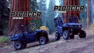 1. 2017 Honda Pioneer 1000 Ltd Commonwealth PowerSports