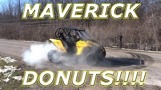 10. WHO KNEW A MAVERICK COULD DO DONUTS!?!?! CAN-AM POWER!
