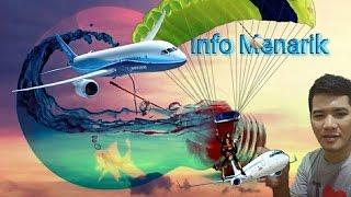 mengapa parasut tidak digunakan dipesawat penumpang, mengapa hanya diberi pelampung, padahalkan parasut dapat menyelamatkan banyak nyawa penumpang. pesawat t...