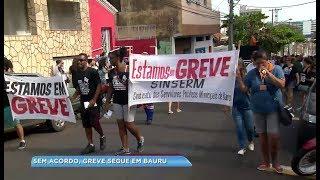 Servidores municipais de Bauru entram em greve