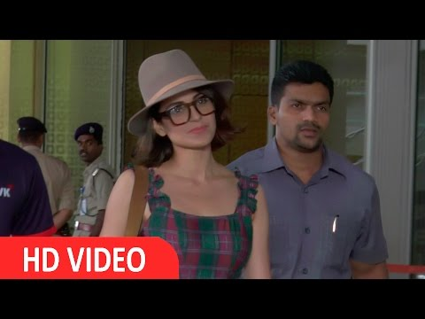 Kangana Ranaut Soptted At Airport