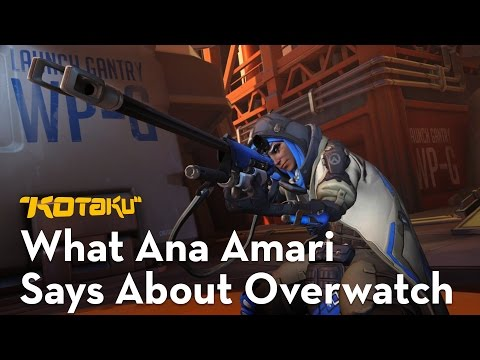 a-critical-look ana blizzard first-person-shooter kotaku-video overwatch video
