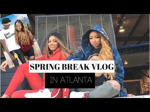 SPRING BREAK IN ATLANTA VLOG 2017 | dymondheartsbeauty