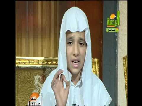 النفس تبكي علي الدنيا ::  يلقيها أحد الأشبال