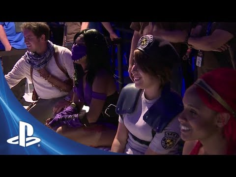 E3 2012: PlayStation All-Stars Battle Royale Cosplay Challenge Part 2