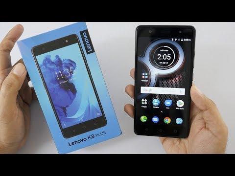 Lenovo K8 Plus With Dual Cam Setup Unboxing & Overview