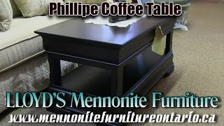 Mennonite Phillipe Coffee and End Tables