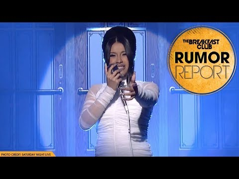 Cardi B Announces Pregnancy and Unveils Bardi Bump On SNL