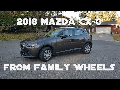 2018 Mazda CX-3 review from Family Wheels