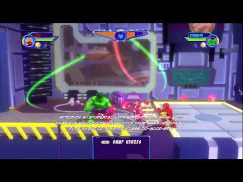 marvel super hero squad wii part 1