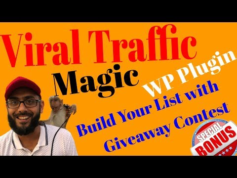 Viral Traffic Magic Review & Bonus💥Build Your Email list with Viral Traffic Magic GiveAway Contest