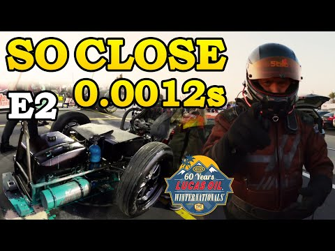 OJ OJ OIL... 12 Ten Thousands of a Second difference | NHRA Winternationals 2020. E2