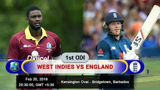 England Vs West Indies | 1st Odi 2019 | wi inning
