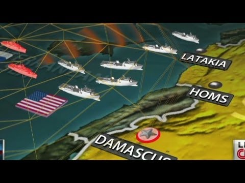 syria - CNN's Tom Foreman shows how Syria is bracing for a U.S. attack and how the Russians are helping the Assad government. More from CNN at http://www.cnn.com/