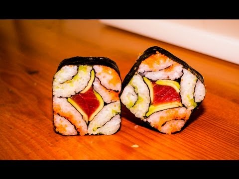 Japanese Recipe: How to Make a Great Mosaic Sushi Roll