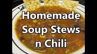 Soup Stew Chili and Sweet Cajun Desert's by Louisiana Cajun Recipes