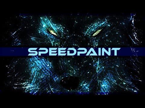 Stelar Wolf SpeedPaint on PSD - Thời lượng: 10 phút.