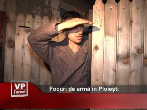 Focuri de armă în Ploiești