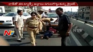 Lady IPS Officer Controls Traffic in Hyderabad || NTV