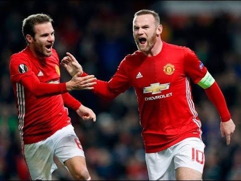 Manchester Vs Feyenoord 4 0 To night is makhterian and Rooney match