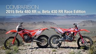 9. 2015 Beta 480 RR vs Beta 430 RR Race Edition - MotoUSA