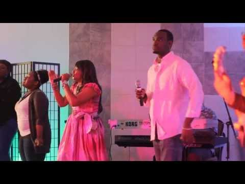 Worshippers Club Singing There Is Power In The Name Of Jesus Part 2