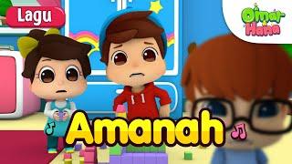 Video Omar & Hana | Lagu Kanak Kanak Islam | Amanah MP3, 3GP, MP4, WEBM, AVI, FLV Juni 2019