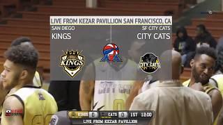 San Diego Kings vs San Francisco City Cats ABA Basketball LIVE 12/9/18