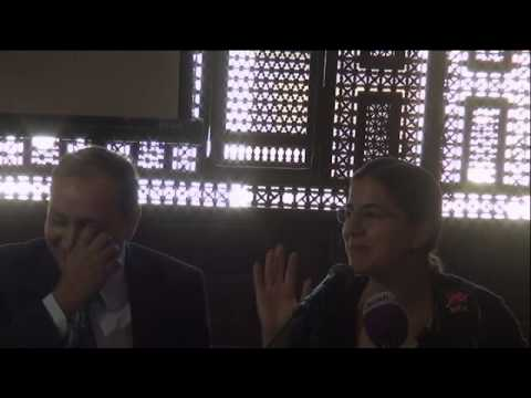 كلمات عن طه حسين للأستاذة مها أبو المعاطى حفيدة الأديب الراحل