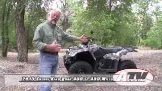 5. ATV Television - 2015 Suzuki King Quad 400 Long Term Test Video