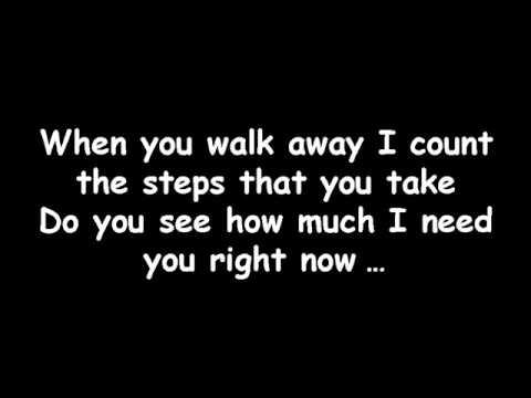 Avril Lavigne - When you're gone - lyrics